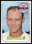 1969 Topps #298  Dave Nicholson  Front Thumbnail