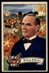 1952 Bowman U.S. Presidents #27  William McKinley  Front Thumbnail