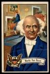 1952 Bowman U.S. Presidents #11  Martin Van Buren   Front Thumbnail