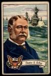 1952 Bowman U.S. Presidents #24  Chester Arthur   Front Thumbnail