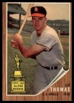 1962 Topps #154 GRN Lee Thomas  Front Thumbnail