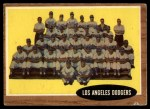 1962 Topps #43   Dodgers Team Front Thumbnail