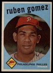 1959 Topps #535  Ruben Gomez  Front Thumbnail
