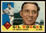 1960 Topps #295  Gil Hodges  Front Thumbnail