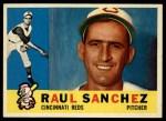 1960 Topps #311  Raul Sanchez  Front Thumbnail