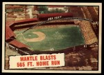 1961 Topps #406   -  Mickey Mantle Baseball Thrills Front Thumbnail
