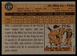 1960 Topps #169  Jake Striker  Back Thumbnail