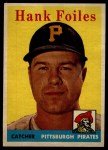 1958 Topps #4  Hank Foiles  Front Thumbnail