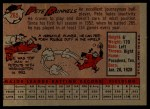 1958 Topps #265  Pete Runnels  Back Thumbnail