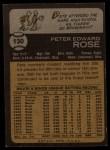 1973 Topps #130  Pete Rose  Back Thumbnail