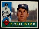 1960 Topps #202  Fred Kipp  Front Thumbnail