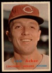 1957 Topps #219  Tom Acker  Front Thumbnail