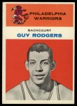 1961 Fleer #37  Guy Rodgers  Front Thumbnail