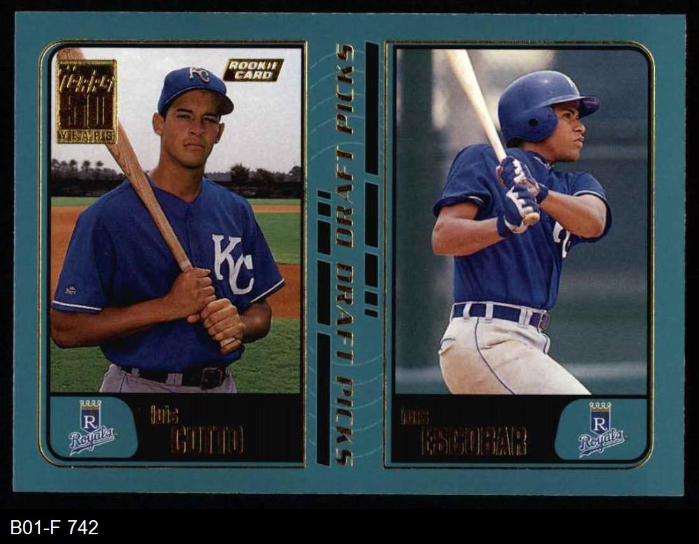 2001 Topps 2001 Topps Kansas City Royals Team Set