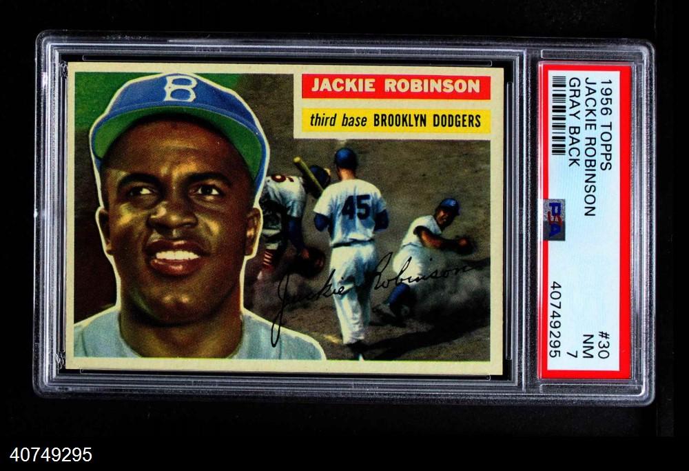 1956 Topps #30  Jackie Robinson