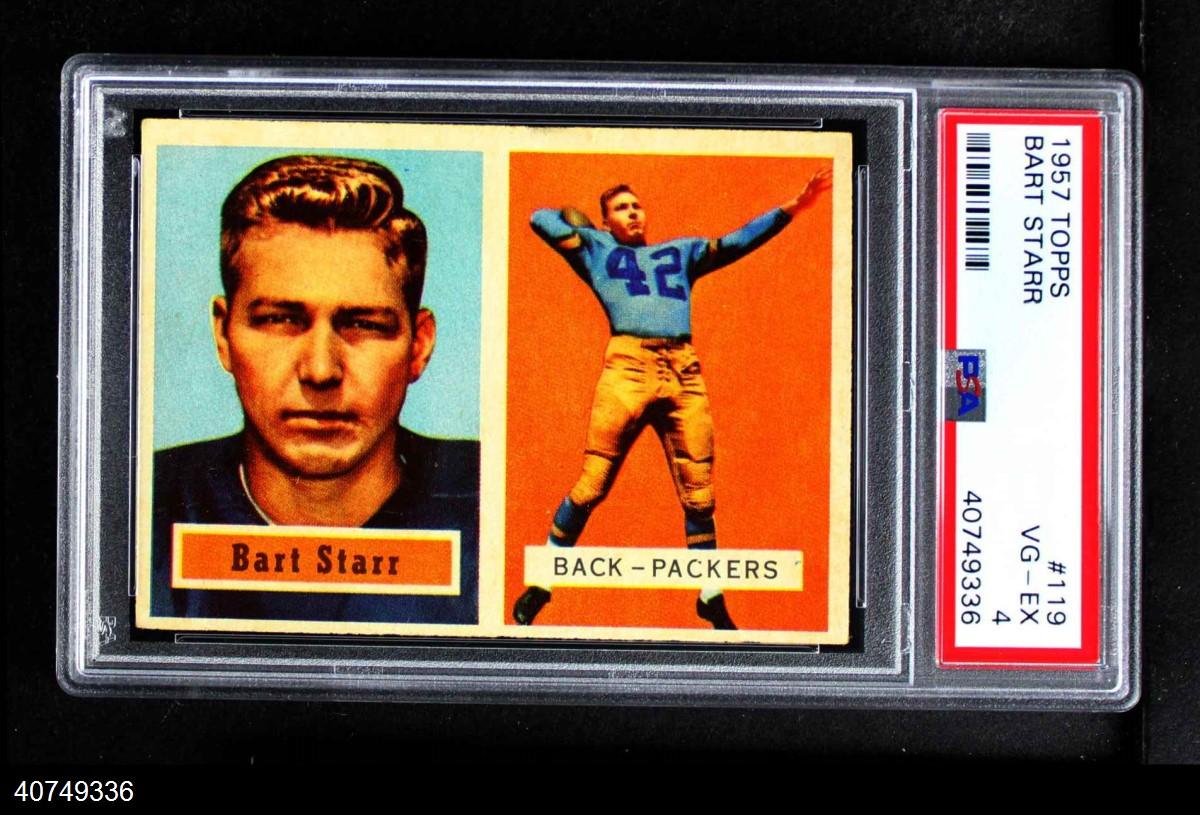 1957 Topps #119  Bart Starr