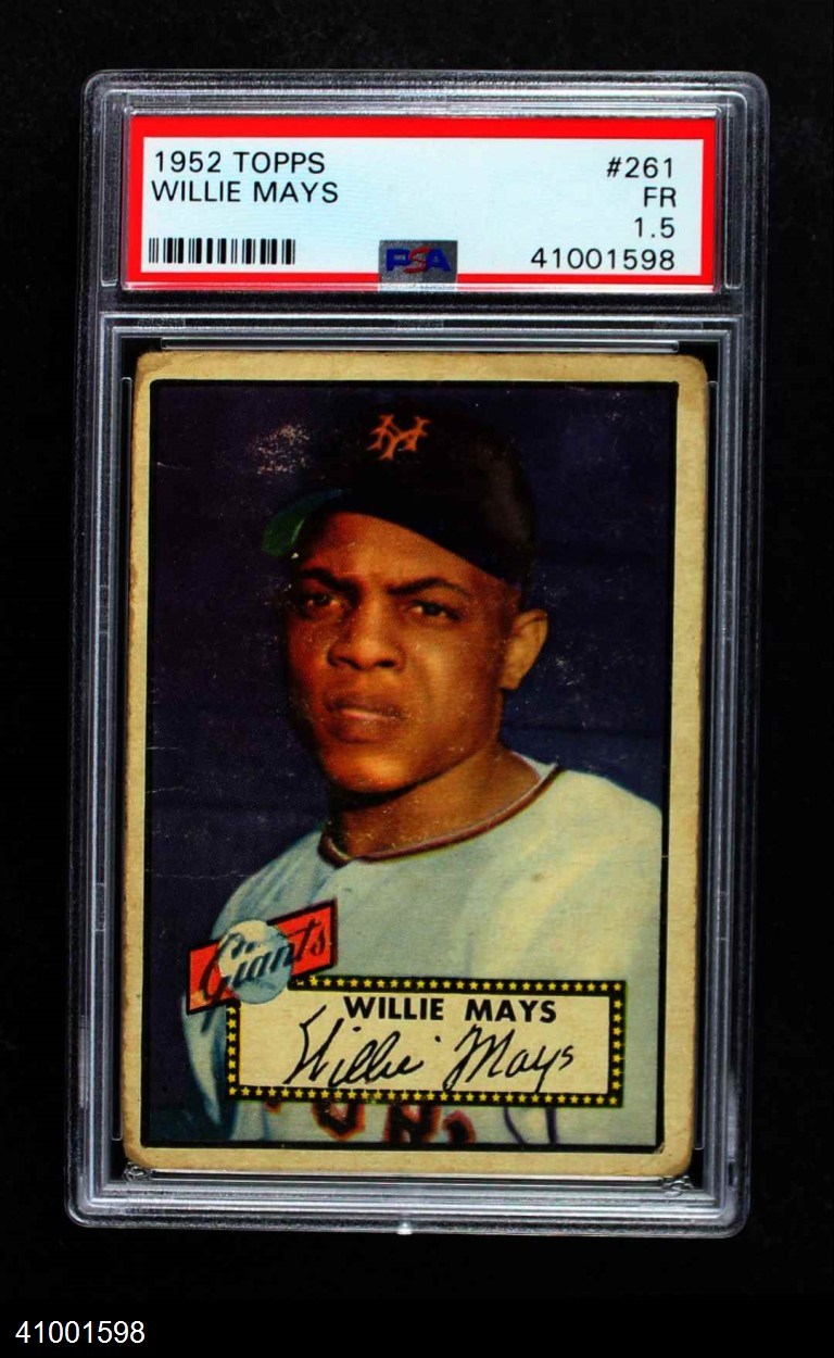 1952 Topps #261  Willie Mays