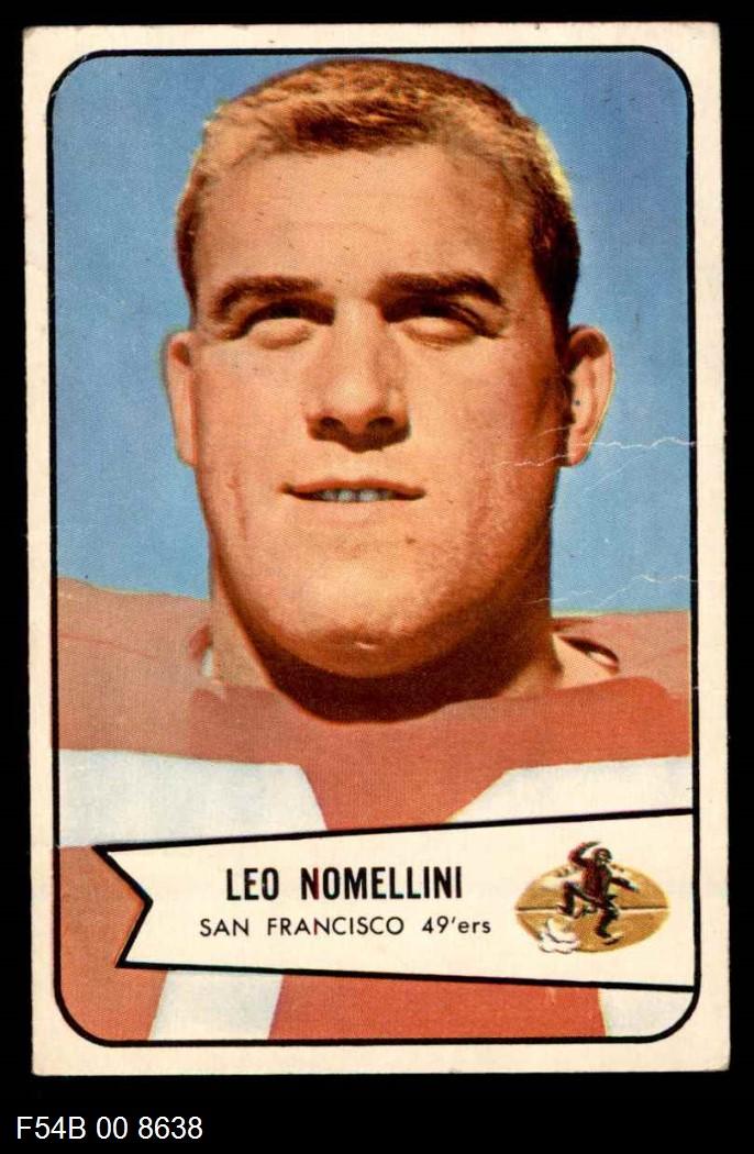 1954 Bowman #76  Leo Nomellini