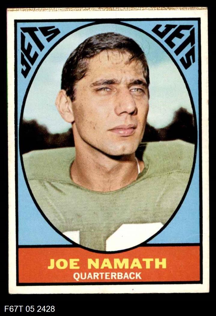 1967 Topps #98  Joe Namath