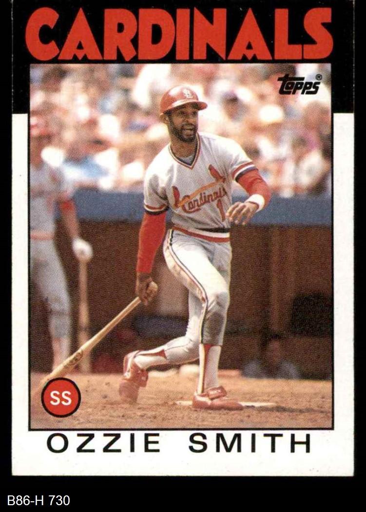 1986 Topps 1986 Topps St Louis Cardinals Team Set