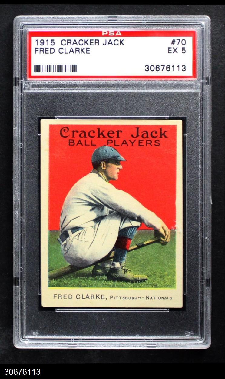 1915 Cracker Jack #70  Fred Clarke