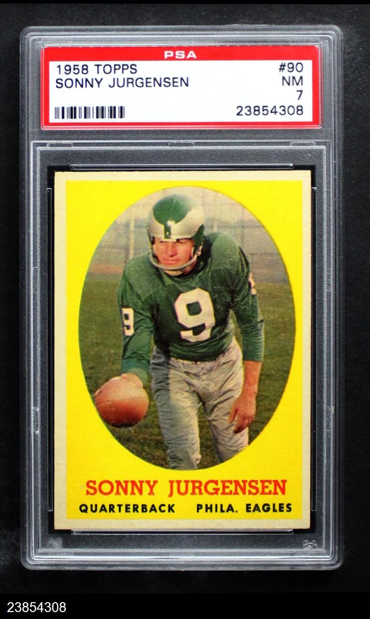 1958 Topps #90  Sonny Jurgensen