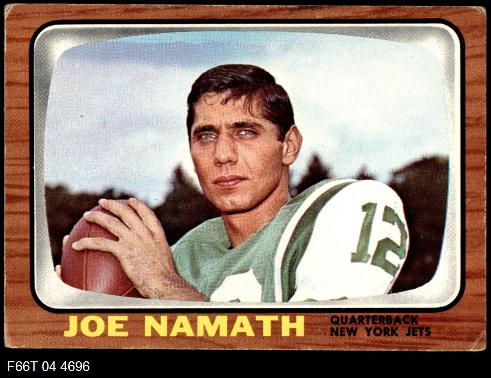 1966 Topps #96  Joe Namath