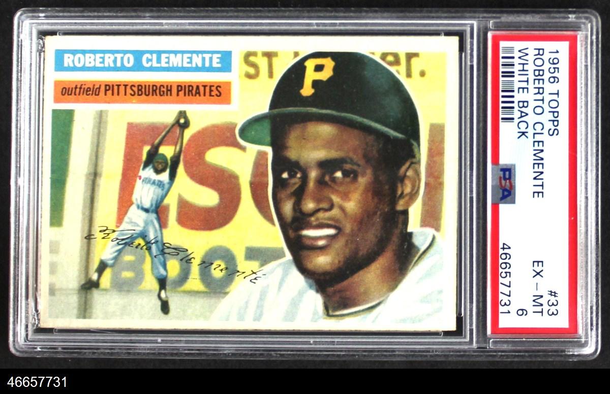 1956 Topps #33  Roberto Clemente