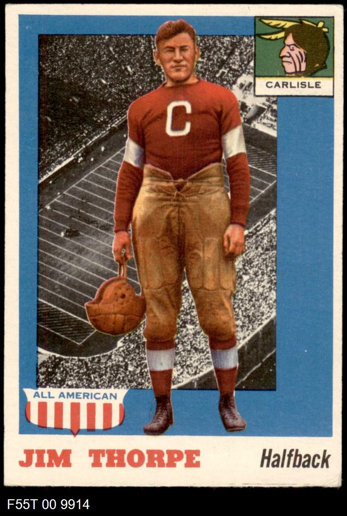 1955 Topps #37  Jim Thorpe