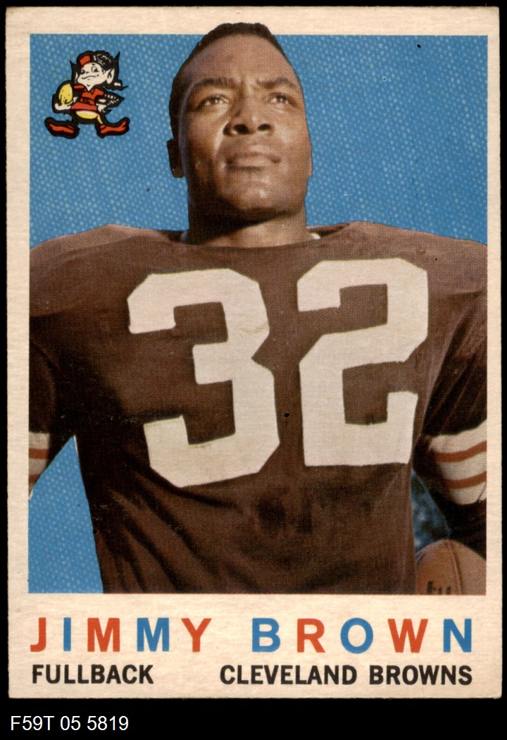 1959 Topps #10  Jim Brown