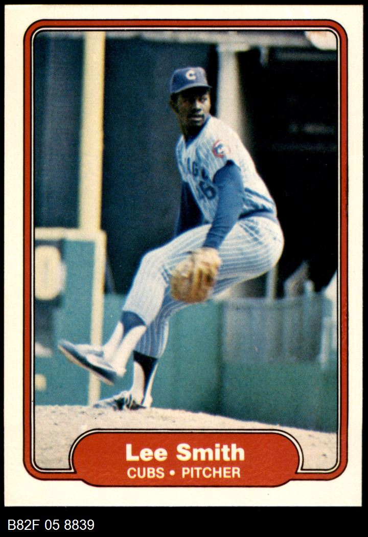 1982 Fleer #603  Lee Smith