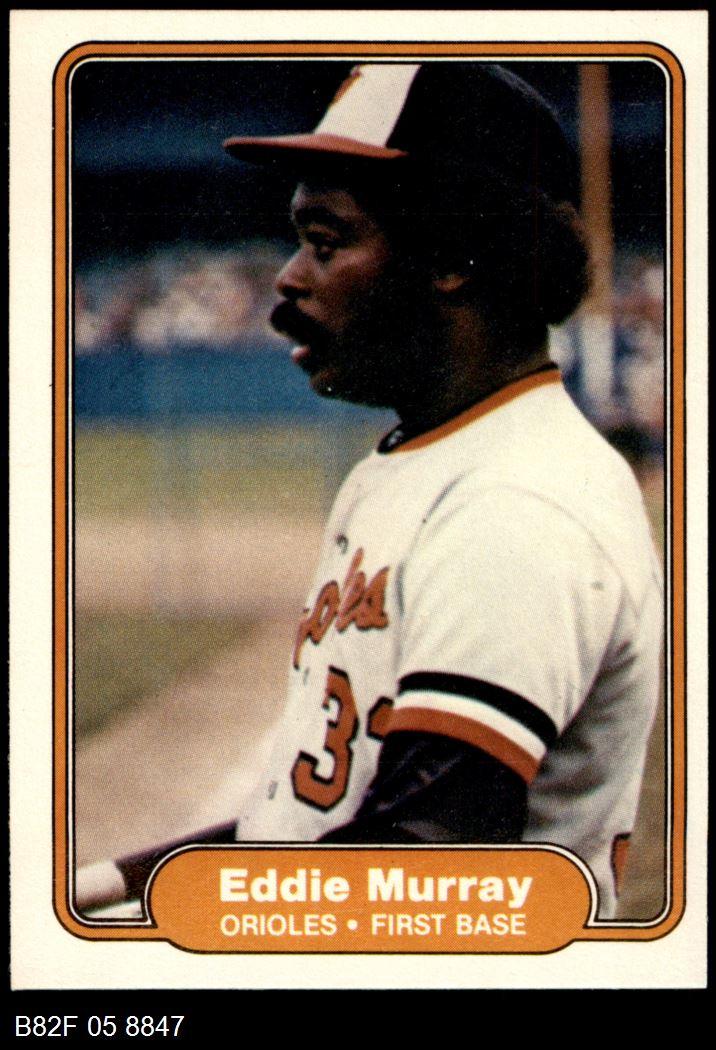 1982 Fleer #174  Ed Eddie Murray