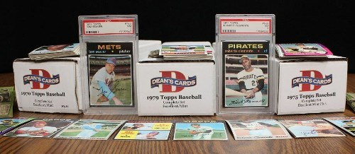 1970s Misc. Baseball Card Complete Sets