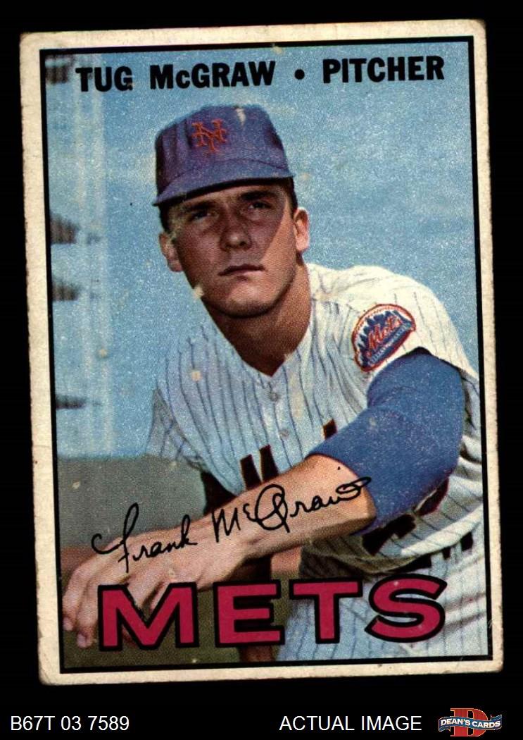 1967 Topps New York Mets Near Team Set