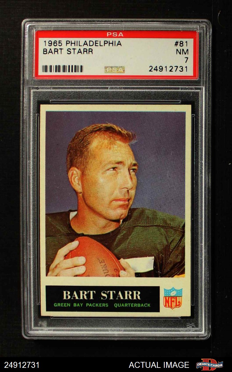 1965 Philadelphia #75 Forrest Gregg Green Bay Packers Football Card Verzamelkaarten, ruilkaarten Verzamelkaarten: sport