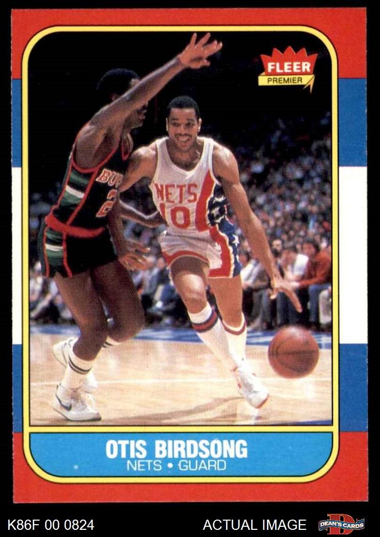 4b90aa126 1986-87 Fleer Basketball Complete Set - w o  57 NM+