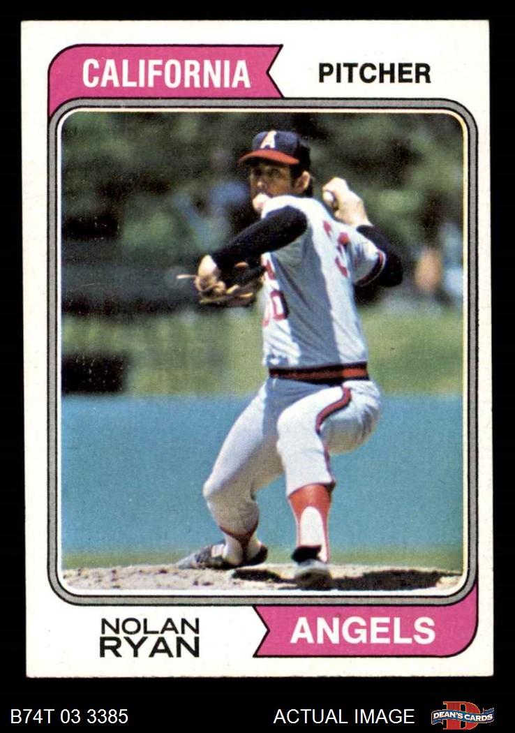 1974 Topps 1974 Topps California Angels Team Set