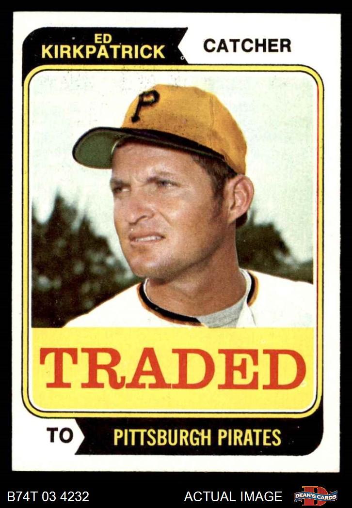 1974 Topps Traded 1974 Topps Traded Baseball Complete Set