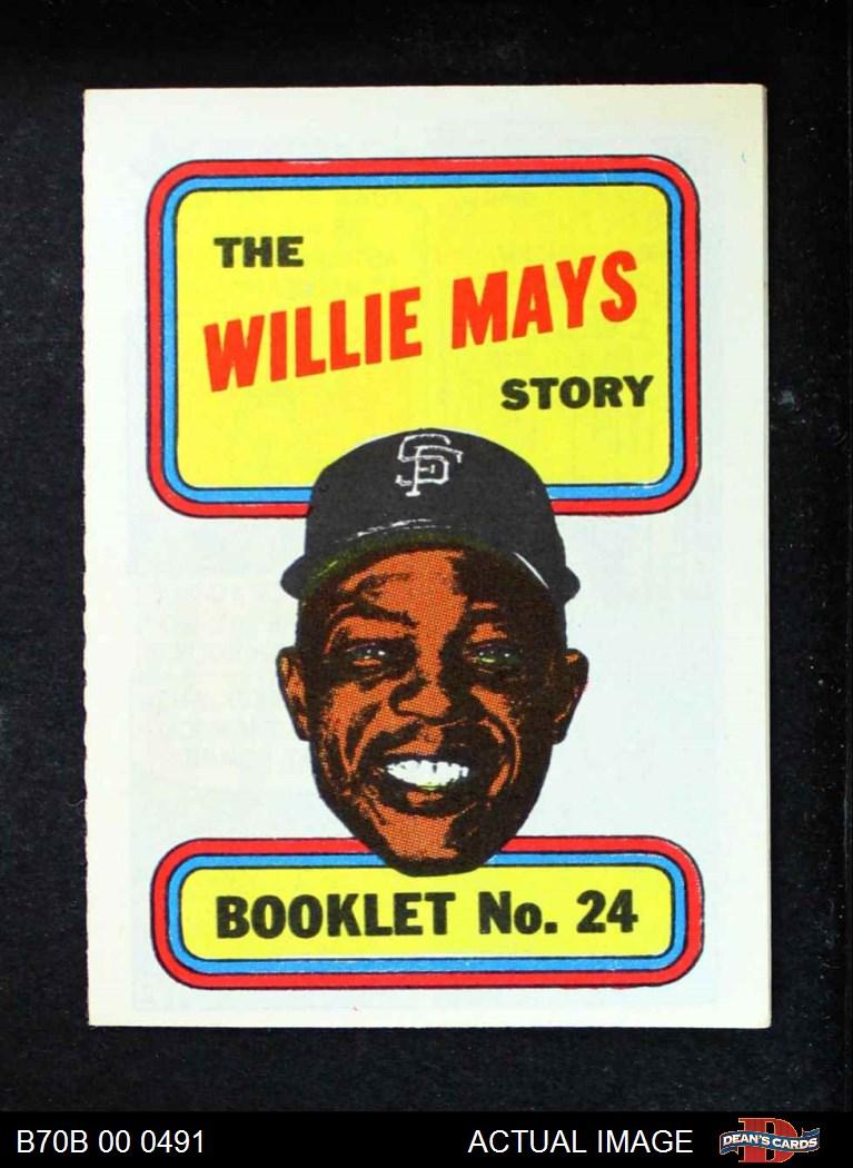 1970 Topps 1970 Topps Baseball Booklets Complete Set