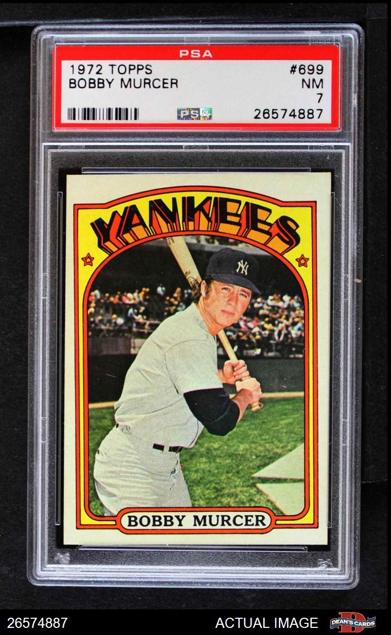 1972 Topps #769 Jack Aker New York Yankees Baseball Card
