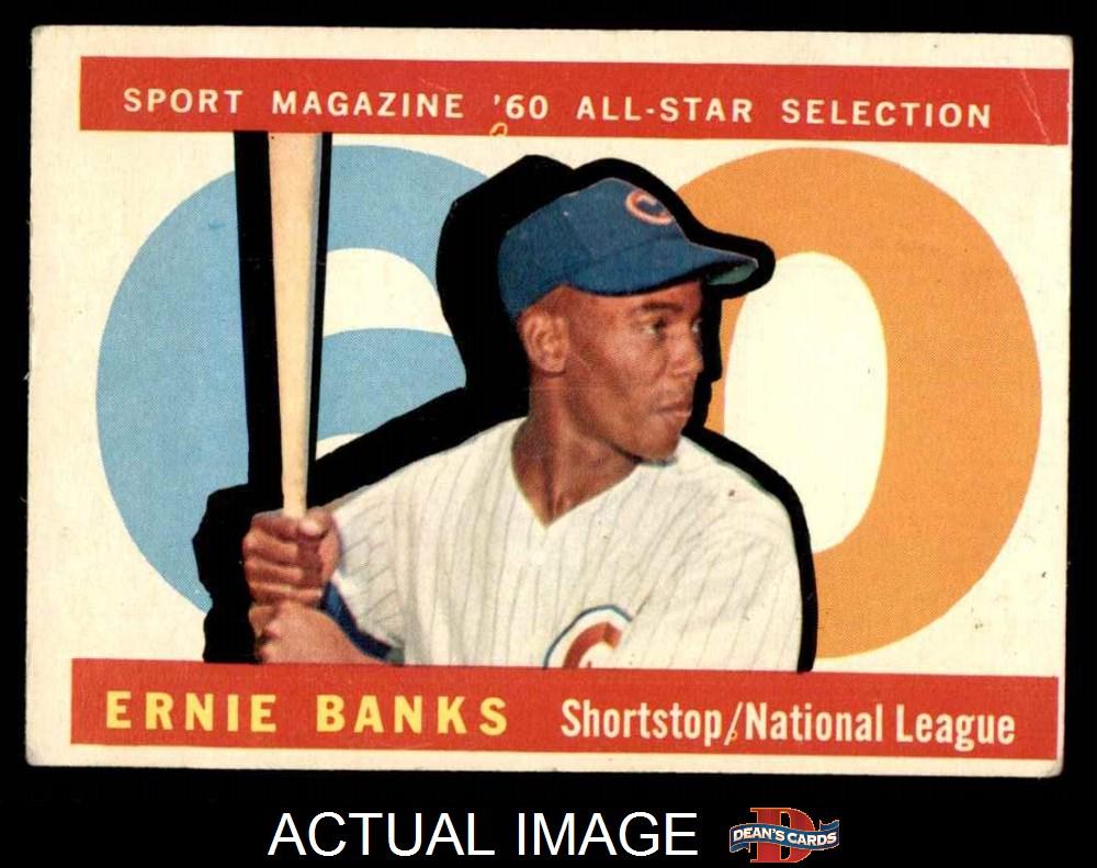 1960 Topps Chicago Cubs Team Set