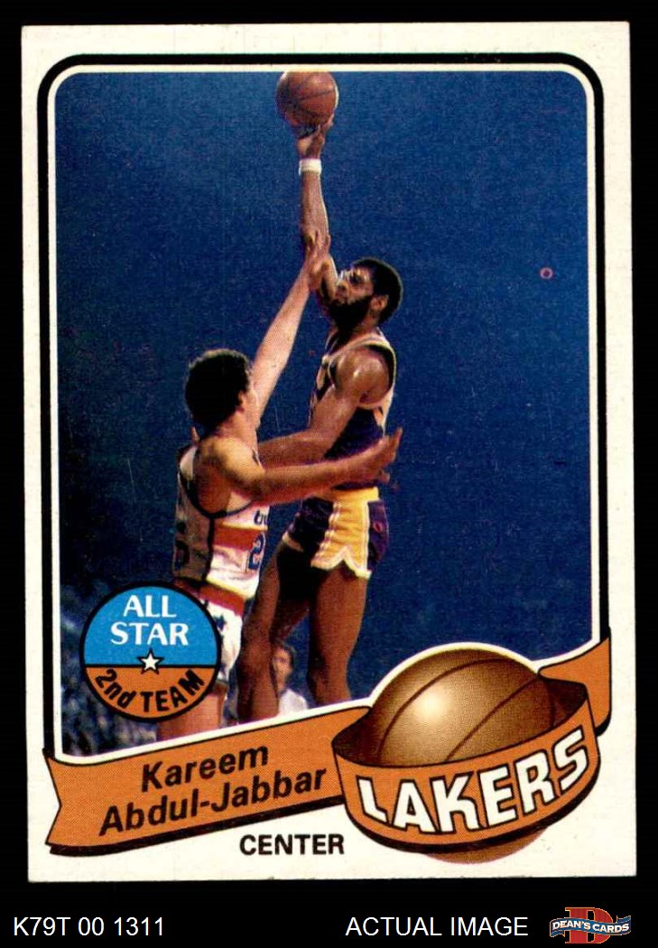 7ae62ec6d8e 1979-80 Topps Basketball Complete Set NM