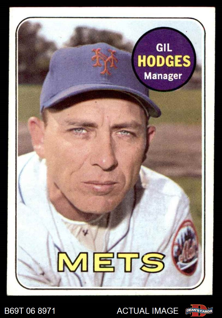 1969 Topps 1969 Topps New York Mets Team Set