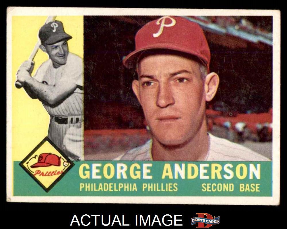 1960 Topps Philadelphia Phillies Team Set