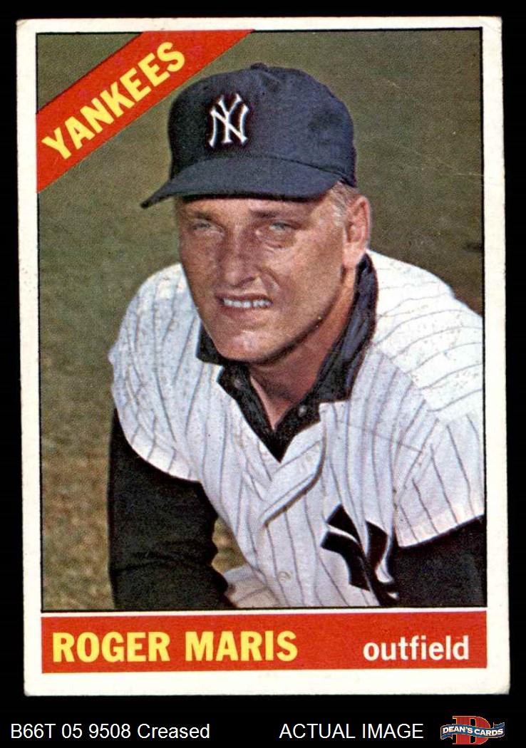 1966 Topps 1966 Topps New York Yankees Near Team Set