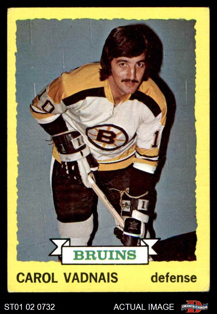 1973-74 Topps Boston Bruins Near Team Set 2.5 - GD+ | eBay Bruins Roster 1973
