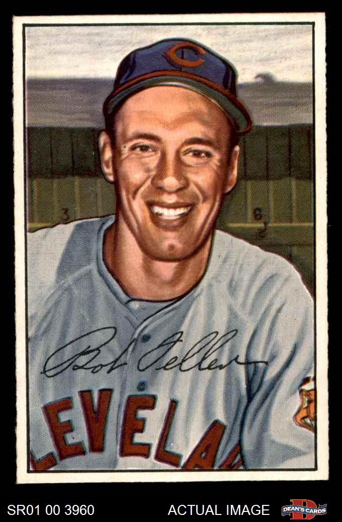1952 Bowman 1952 Bowman Cleveland Indians Team Set