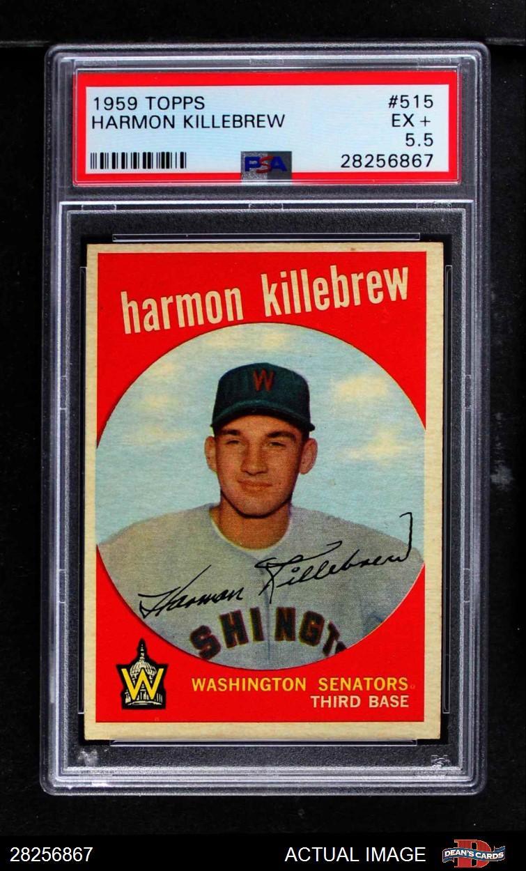 Sports Trading Cards & Accessories Baseball Trading Cards 1959 Topps #566 Roy Sievers Washington Senators Baseball Card