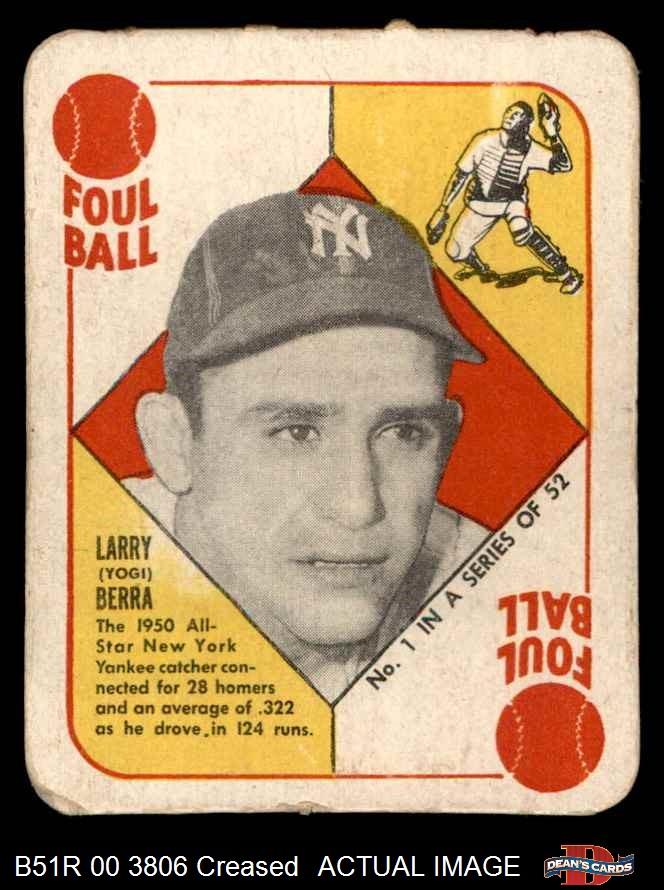 1951 Topps Red Back Baseball Complete Set