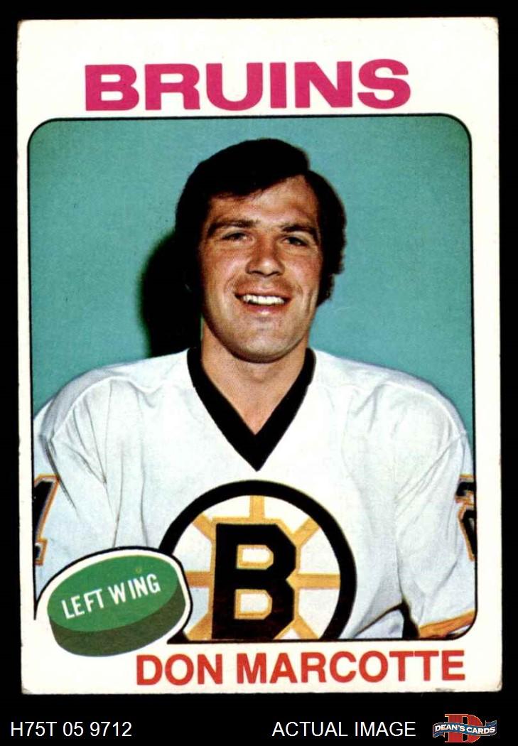 1975-76 Topps Boston Bruins Near Team Set VG+ | eBay Bruins Roster 1975
